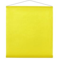 Tenture intissée jaune