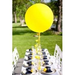 Ballon géant jaune200 cm