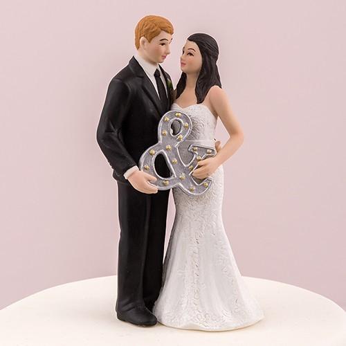 Figurine de mariage esprit urbain