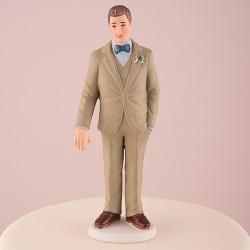 Figurine marié vintage