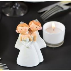 Figurine de mariage Mrs et Mrs