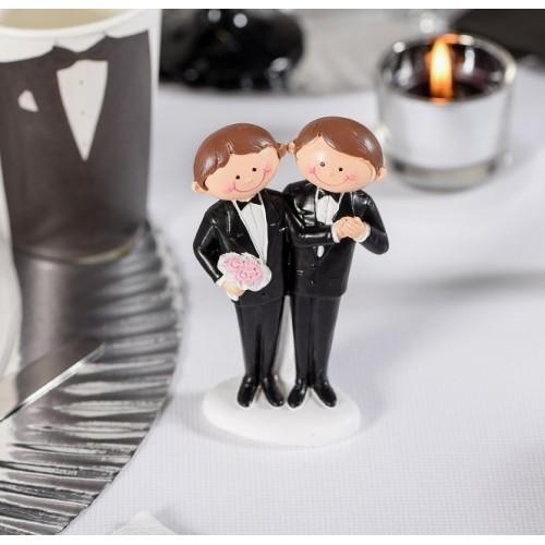 Figurine de mariage Mr et Mr