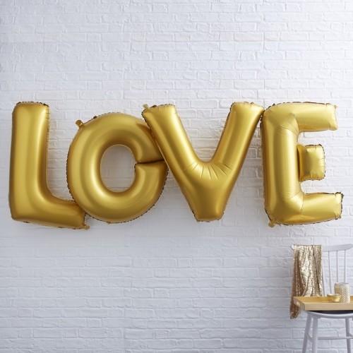 Ballons géants LOVE or