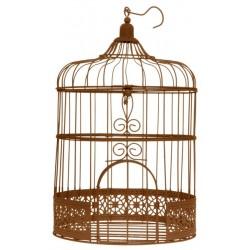 Tirelire de mariage cage à oiseaux