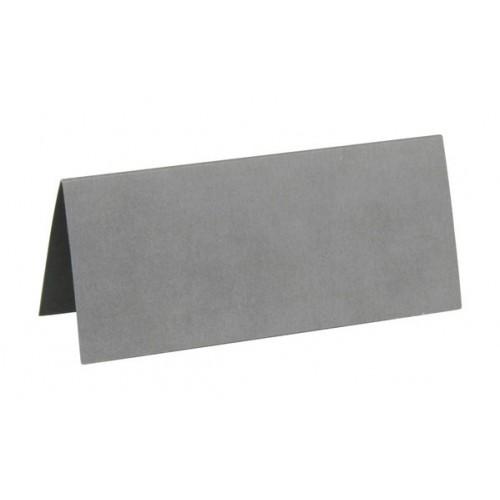 Marque place rectangulaire gris