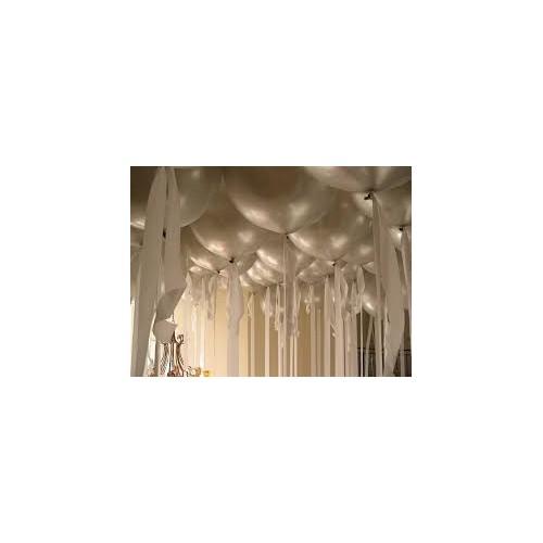 Ballon géant argent 250 cm