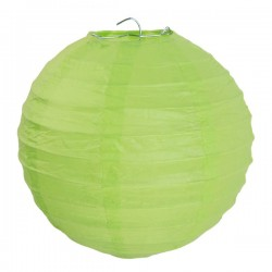 Lanterne chinoise vert anis