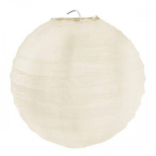 Lanterne papier ivoire
