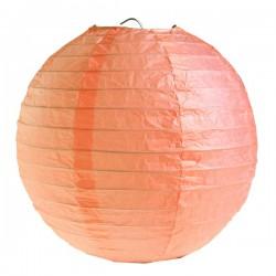 Lanterne japonaise corail
