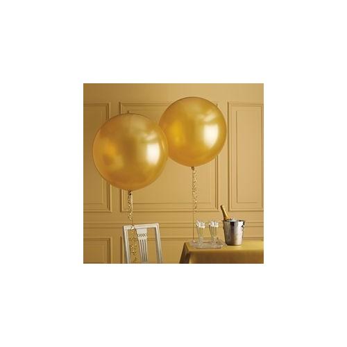 Ballon géant or 250 cm