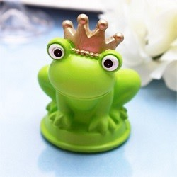 Bougie grenouille prince charmant