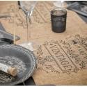 Chemin de table mariage rustique