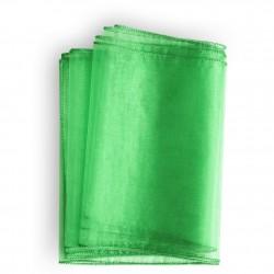 Chemin de table organza vert