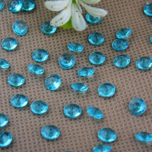 Diamants bleu aqua x 100