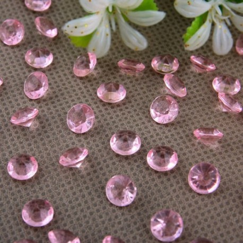 Diamants roses pales x 100