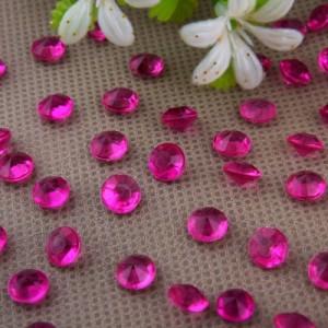 Diamants rose fuchsia x 100