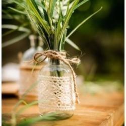 Vase rétro champêtre