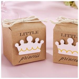 Boite à dragées little princess par 10