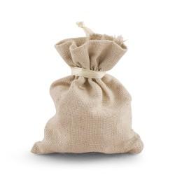Sachet à dragées coton lin par 10