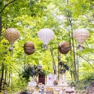Lanterne montgolfière par 3