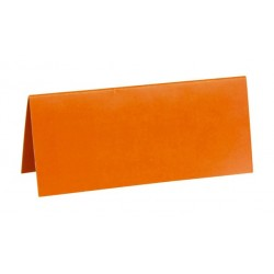 Marque place chevalet orange par 10