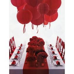 Lanterne chinoise rouge