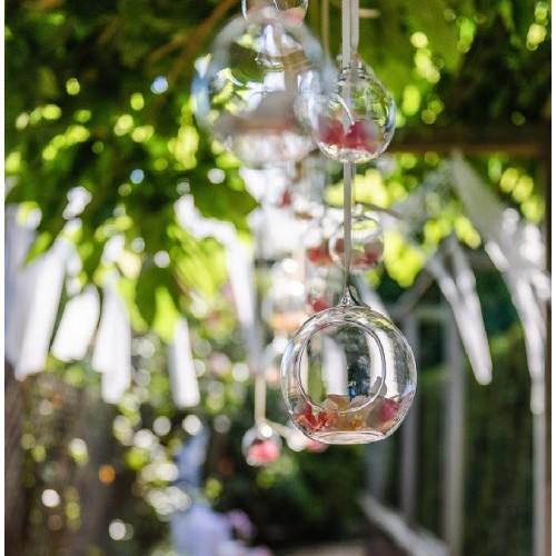 Boule en verre à suspendre