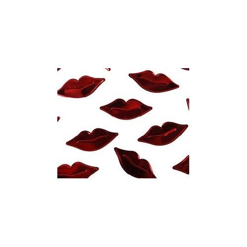 Confettis de table bouche