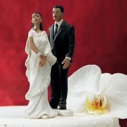 Figurine de mariage indou