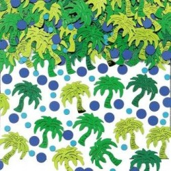 Confettis de table palmier